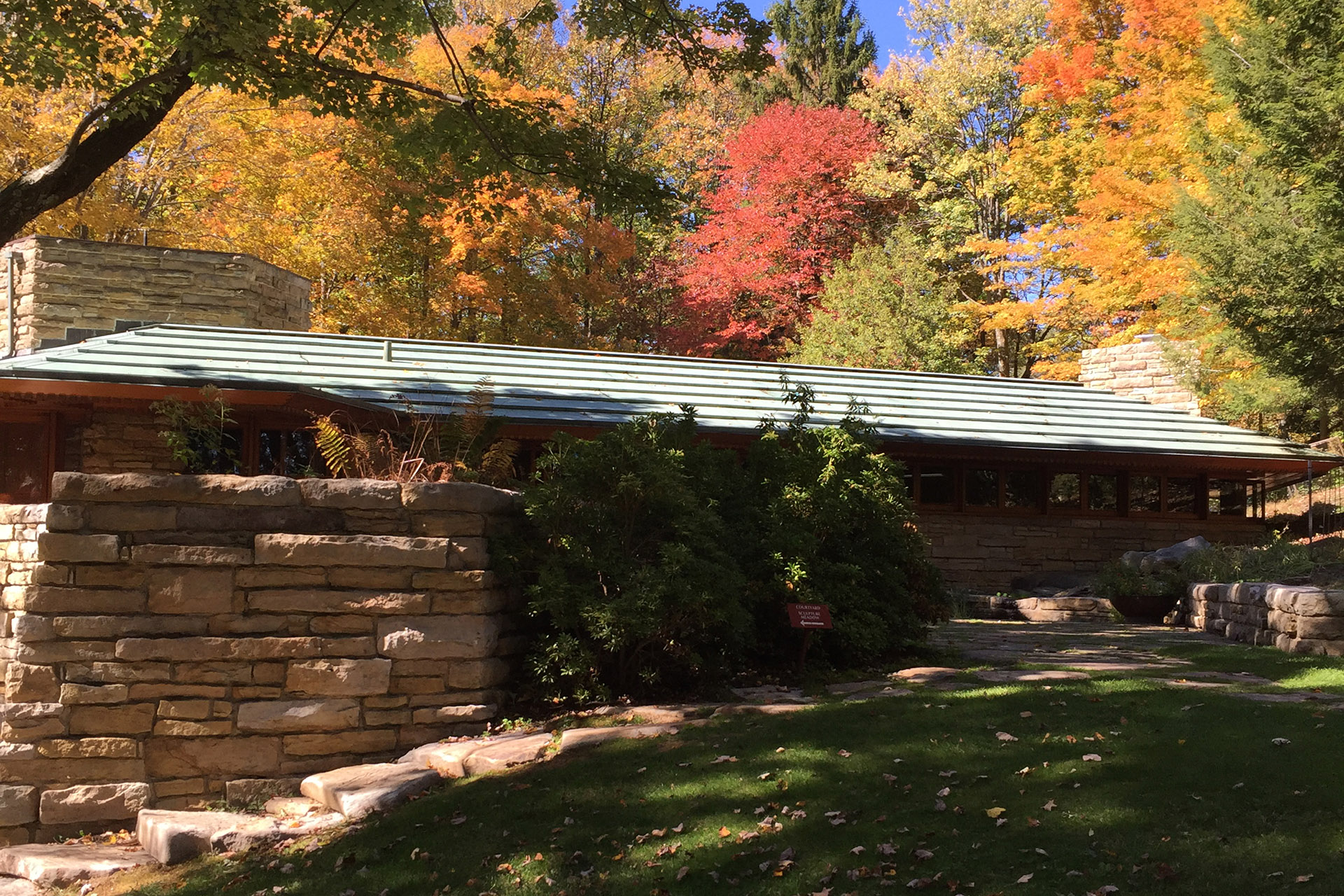 Kentuck Knob in the Fall