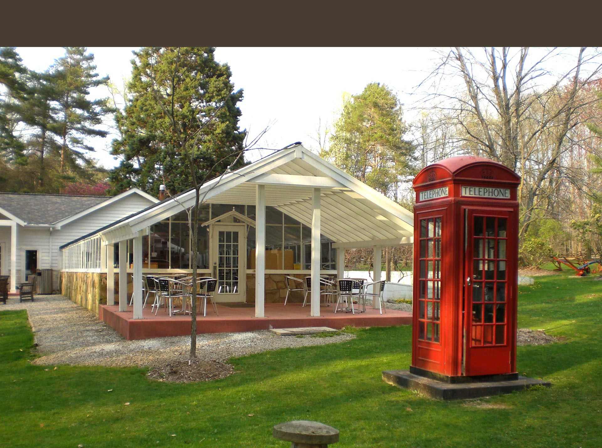 Greenhouse + Phone Booth