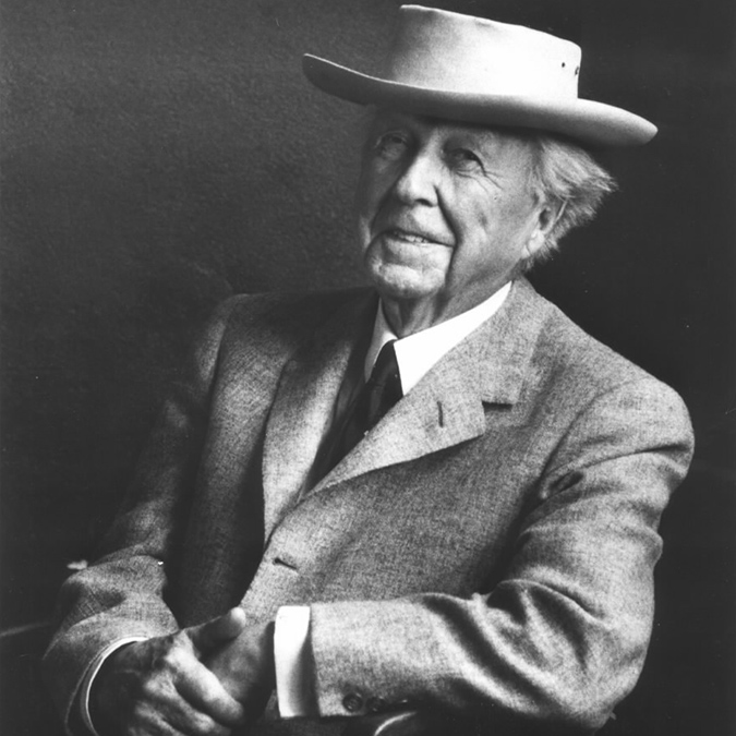 Frank Lloyd Wright Portrait